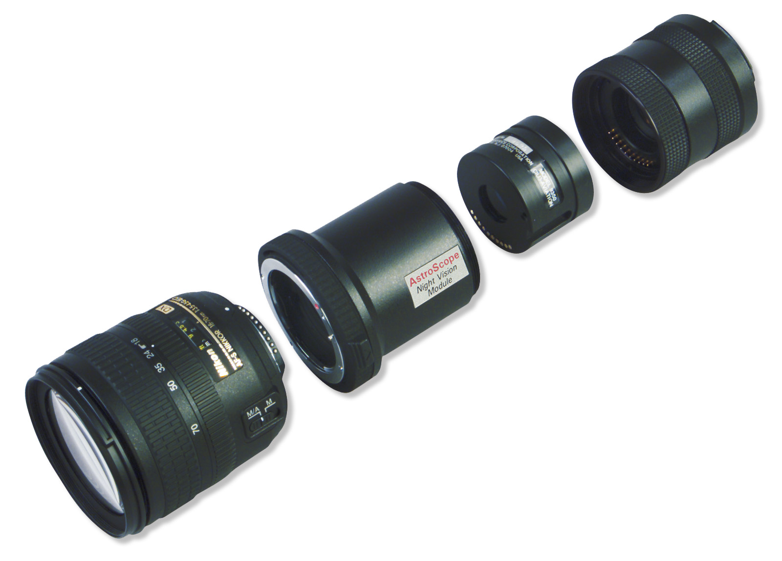 AstroScope 9350 Night Vision Modules - CIU Exploded